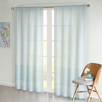 Jaye Dobby Stripe Window Sheer