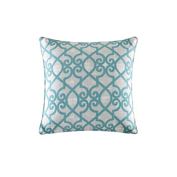 Daven Fretwork 3M Scotchgard Outdoor Square Pillow