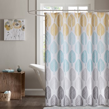 Central Park Printed Shower Curtain