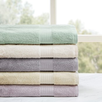Organic 6 Piece Cotton Towel Set