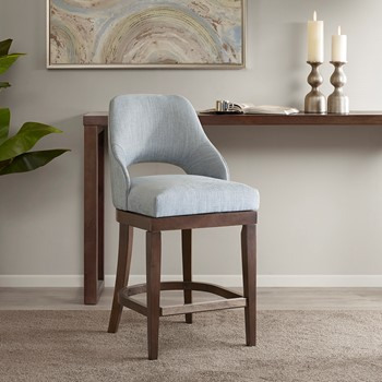 Jillian Counter  Stool With Swivel Seat