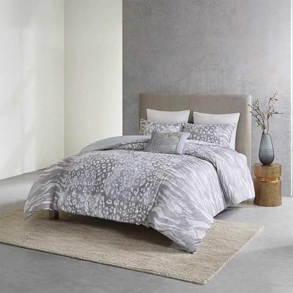 Dohwa 3 Piece Cotton Duvet Set By N Natori Designer Living
