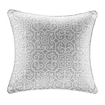 Aptos Printed Fret 3M Scotchgard Outdoor Square Pillow