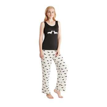 Olivia 3 Piece Pajama Set