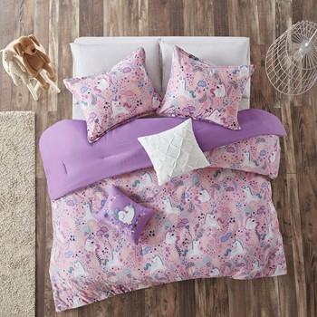 Lola Cotton Printed Comforter Set