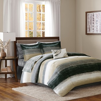 Saben Complete Comforter and Cotton Sheet Set