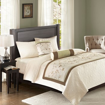 Serene Bedscarf and Pillow Set