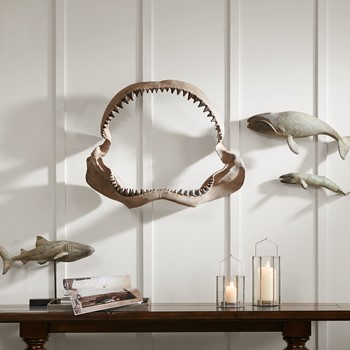 Brax Shark Jaw Wall Hanging