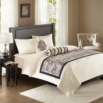 Aubrey Bedscarf and Pillow Set