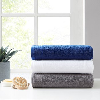 Big Bundle 100% Cotton 12 Piece Bath Towel Set