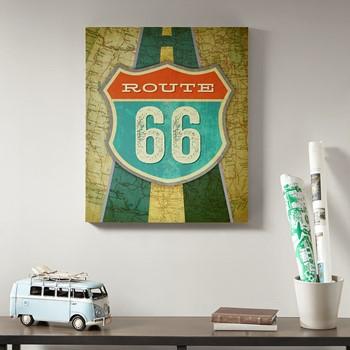 Route 66 Gel Coat Canvas