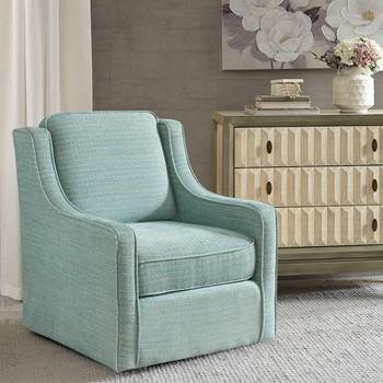 Harris Chenille Swivel Chair
