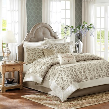 Kingsley 8 Piece Comforter Set