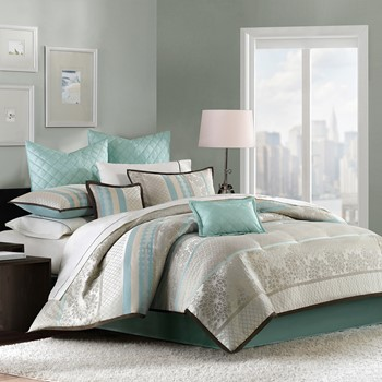 Paige 8 Piece Comforter Set