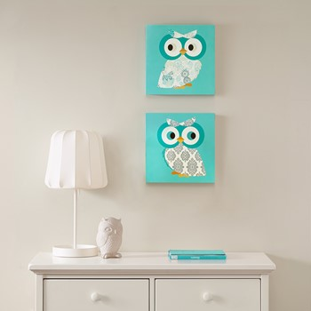 Hoot Hoot MDF Box 2 Piece Set