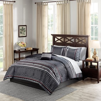 Belfast Complete Comforter and Cotton Sheet Set