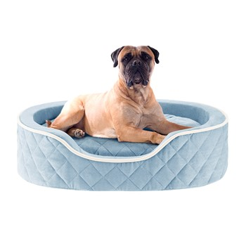 Renny Quilted Memory Foam Orthopedic Oval Cuddler