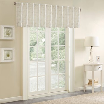 Gemma Sheer Embroidered Window Valance