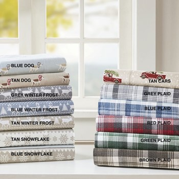 Flannel Cotton Sheet Set