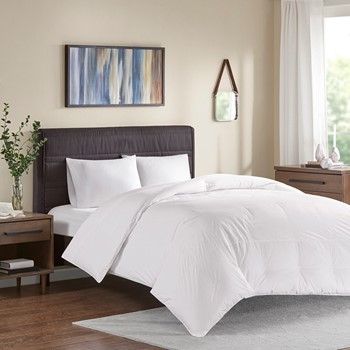 Extra Warmth Oversized 100% Cotton Down Comforter