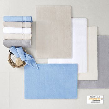Marshmallow Bath Rug Collection