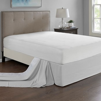 Simple Fit Wrap Around Adjustable Bedskirt