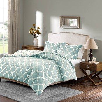 Peyton Reversible Plush Comforter Mini Set