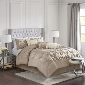 Laurel 7 Piece Tufted Comforter Set