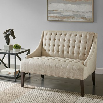 Tristan Button Tufted Settee