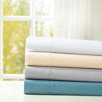 Snug Grip 300 Thread Count Cotton Sateen Pillowcases