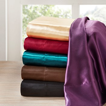 Satin 6 Piece Sheet Set