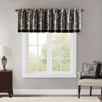 Aubrey Jacquard Window Valance