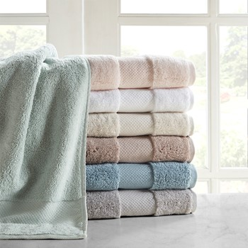 Turkish Cotton 6 Piece Bath Towel Set