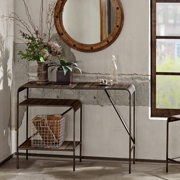 Renu Metal Console Table