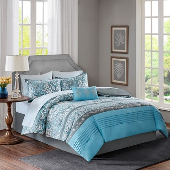 Elle Complete Comforter and Cotton Sheet Set