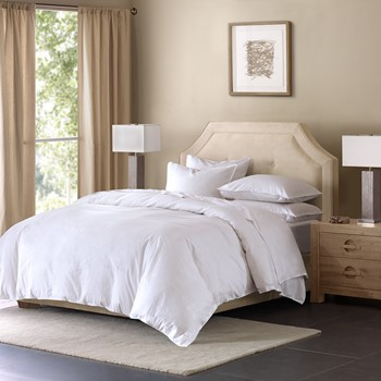 Cotton Linen Blend Duvet Cover Mini Set