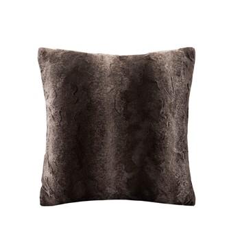 Zuri Faux Fur Square Pillow