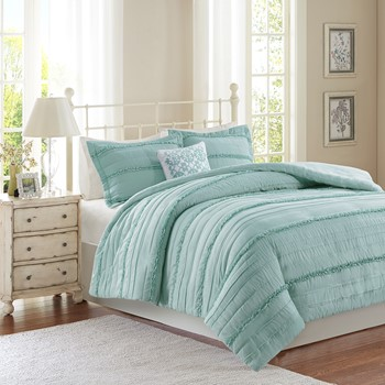 Celeste 4 Piece 2-in-1 Duvet Set