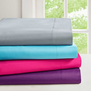 Microfiber Sheet Set with Side Storage Pockets