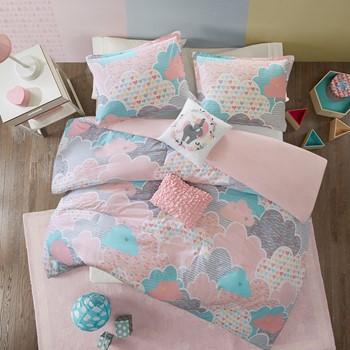 Cloud Cotton Printed Duvet Cover Set