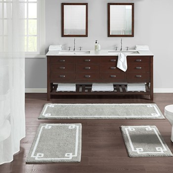 Evan Cotton Tufted Bath Rug