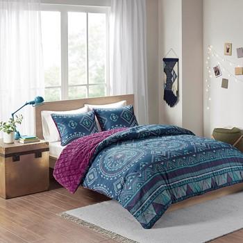 Ripley Reversible Comforter Mini Set