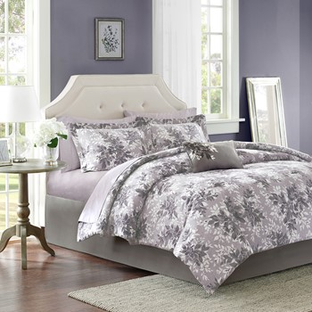 Shelby Complete Comforter and Cotton Sheet Set
