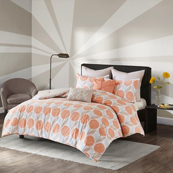 Johanna 7 Piece Cotton Comforter Set