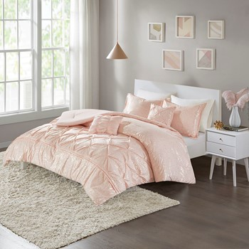 Adele Metallic Comforter Set