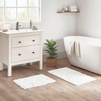 Elements Organic Cotton 2 Piece Bath Rug Set