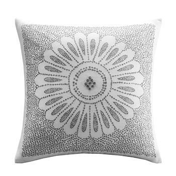 Sofia Embroidered Decorative Pillow
