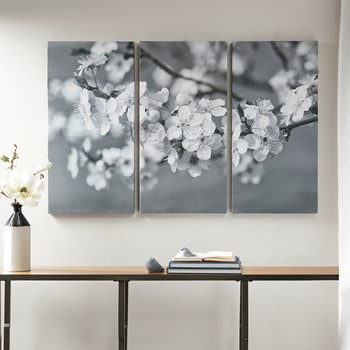 Branches in Bloom Gel Coat Canvas 3 Piece Set