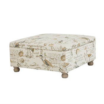 Carlyle Cocktail Square Ottoman