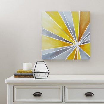 Ray of Sunshine Gel Coat Canvas